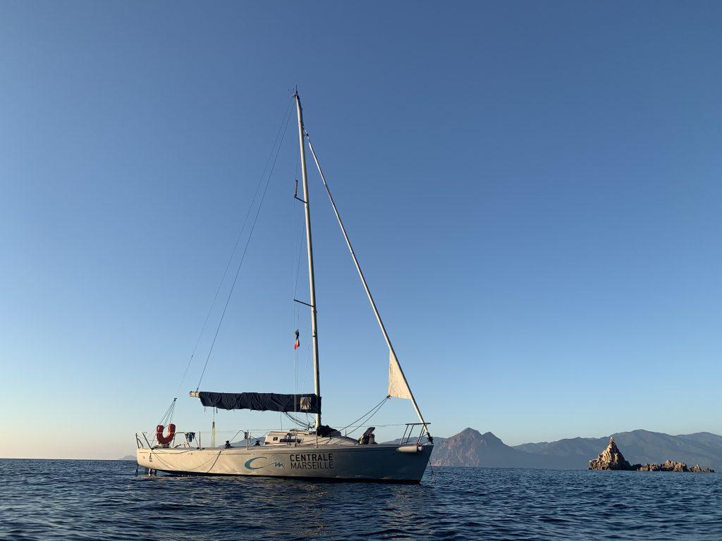 J80 utilisé par Jybe en Corse