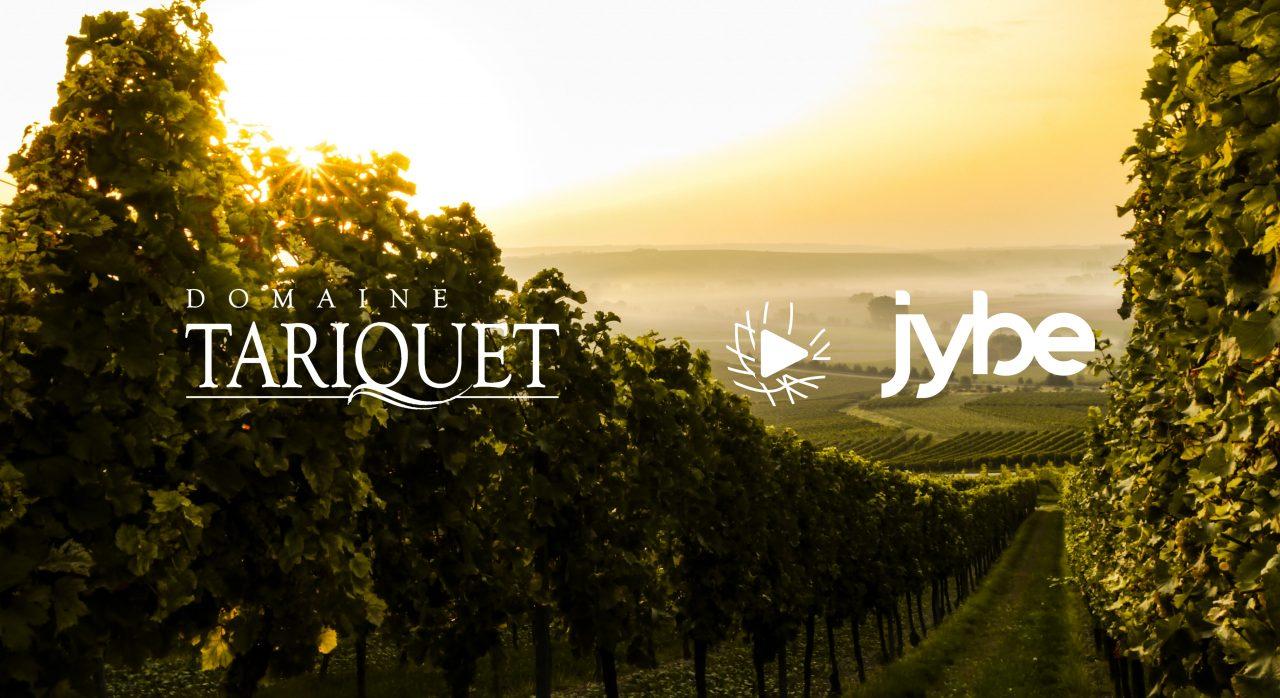 Partenariat entre le domaine Tariquet et l'association Jybe